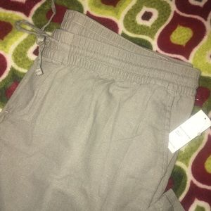 Women's stretchy pants.
